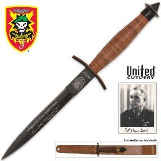 United Cutlery UC2784 SOA V42 Marine Dagger Banks Edition with Sheath   Commando Knife