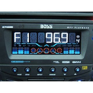 BOSS Audio 870DBI In Dash Double Din Detachable CD/USB/SD/ Player Receiver Bluetooth Streaming Bluetooth Hands free with Remote  Vehicle Receivers