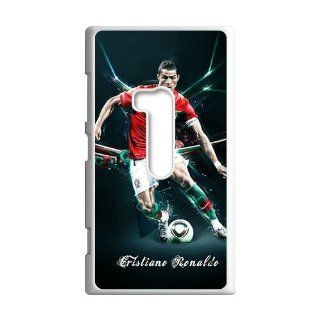 DIY Waterproof Protection Soccer Star Cristiano Ronaldo Case Cover For Nokia Lumia 920 0396 02: Cell Phones & Accessories