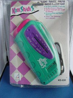 "Kool Shades ""Light Tunes"" AM/FM Radio Flashlight KS 930: Electronics"