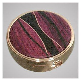 Hand made Cocobolo Inlay Pill Box Siena Julia Jewelry