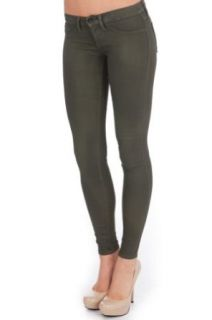 Flying Monkey Women's Wax Coated Skinny Jeans at  Women�s Clothing store
