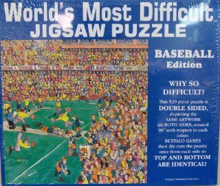 World's Most Difficult Jigsaw Puzzle Baseball Toys & Games