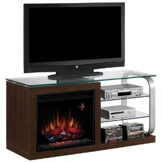 Luxe Media Mantel in Black Metal 23MM9501 D974 MANTEL ONLY Home & Kitchen