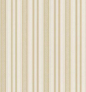 Mirage 983 49015 Signature V Geoffrey Cream Ornamental Stripe Wallpaper
