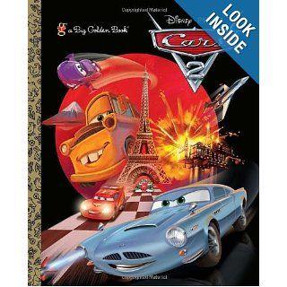 Cars 2 Big Golden Book (Disney/Pixar Cars 2) (a Big Golden Book) RH Disney, Golden Books 9780736427807  Children's Books