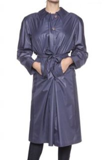 Claude Havrey Trench Coat REVE, Color: Blue, Size: 44 at  Women�s Clothing store