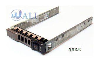 """Wali SAS Tray Caddy for Dell 2.5"""" SAS Sata Tray Caddy Sled G176j / 0g176j / G281d / 0g281d / Kg7nr / 0kg7nr / Wx387 / 0wx387 Y961d / 0y961d / T961c / 0t961c / Xn394 / 0xn394 Xn391 / 0xn391 / 18kyh / 018kyh Kf248 / Nf088 / F830c / F449d / Y961c / Dj912"""