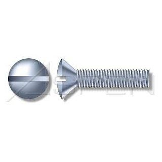(30pcs) Metric DIN 964 M6X90 Slotted Oval Head Machine Screw Stainless Steel A4 Ships Free in USA Industrial & Scientific