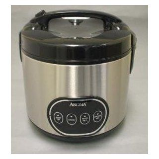 Aroma ARC 998 16 Cup (Cooked) Digital Rice Cooker & Food Steamer Kitchen & Dining
