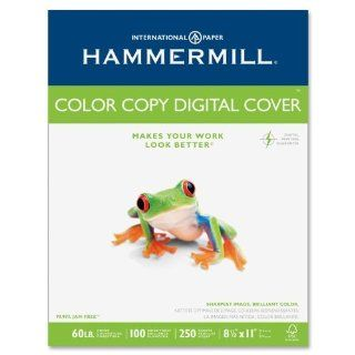 Hammermill Color Copy Digital Cover Stock, 60 lbs., 8 1/2 x 11, White, 250 Sheets  Photo Quality Paper  Electronics