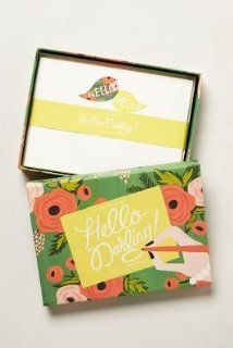 Anthropologie Hello Darling Stationery by Rifle Paper Co.   Home And Garden Products