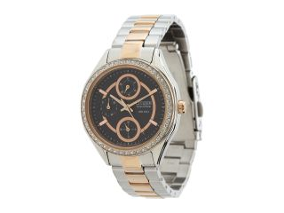 Citizen Watches FD1066 59H Drive From Citizen Eco Drive POV 2.0 Two Tone Swarovski Crystal Watch Rose Gold Two Tone Stainless Steel