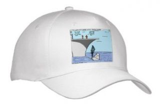 Rich Diesslins Funny General   Editorial Cartoons   Clinton Failed Aircraft Carrier Landing   Caps   Adult Baseball Cap Clothing