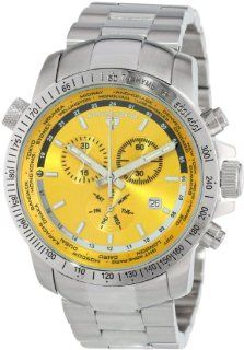 Swiss Legend Men's 10013 77 World Timer Collection Chronograph Stainless Steel Watch at  Men's Watch store.