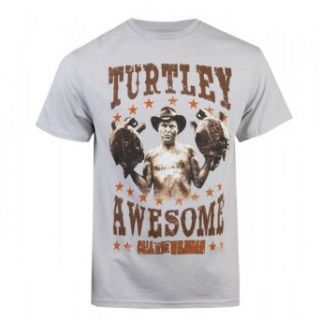 Call of the Wildman Turtley Awesome T Shirt, XXL Clothing