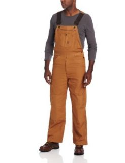 Berne Mens Original Unlined Duck Bib Overall at  Men�s Clothing store