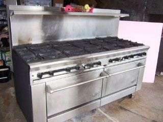 DCS Dynamic Cooking Systems Commercial Gas Stove 12 burner