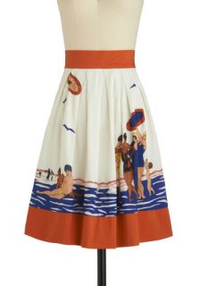 Eva Franco Sunday Diving Skirt  Mod Retro Vintage Skirts