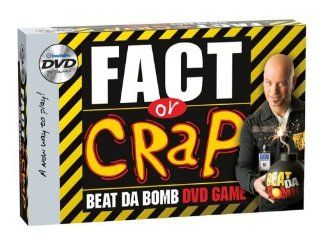 The Best Selling Board Game, Is Now A Dvd Game With And Added Time Twist   Fact or Crap DVD Game Toys & Games