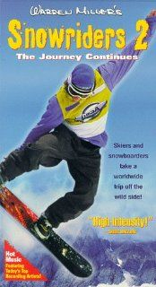 Warren Miller's Snowriders 2: The Journey Continues [VHS]: Warren Miller, Bill Bacon, Deni Bevin, Chris Davenport, Greg Harrington, Bob Rankin, Chris Carson, Scott Kauf, Caleb Martin, Mike Rawles, Shannon Schad, Jorli Riker, Don Brolin, Kurt Miller, Pe