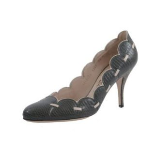 "Salvatore Ferragamo ""Melisenda"" Lizard Skin Classic High Heels Shoes: Shoes"