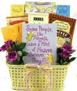 Angels Among Us   Christian Gift Basket for Women   Great Mothers Day Gift Idea  Gourmet Coffee Gifts  Grocery & Gourmet Food