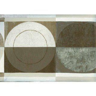 Kitchen Half Shadded Plates Wallpaper Border