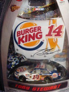 Nascar Detailed Diecast Racing Series Tony Stewart #14 Burger King Car 1:64 Scale Hood Magnet Collector: Toys & Games