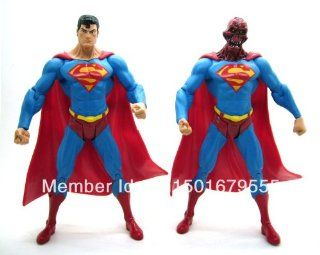 DC Direct DCD Superman Man of Steel Series 6 Enemies Among Us and Alien Head 7 Loose Action Figure Set Figurine Toy Doll: Toys & Games
