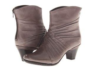 Cobb Hill Shannon Womens Zip Boots (Gray)