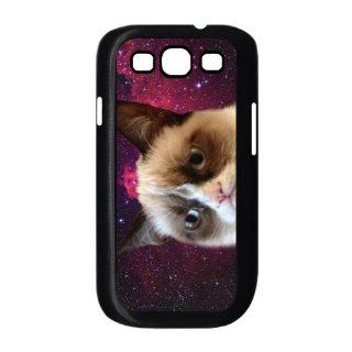 Custom Because Cats 3D Cover Case for Samsung Galaxy S3 III i9300 LSM 364: Cell Phones & Accessories