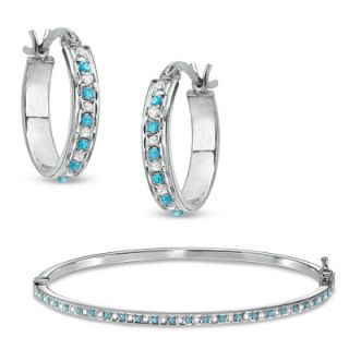 Diamond Fascination™ and Gemstone Fascination™ Jewelry Set in
