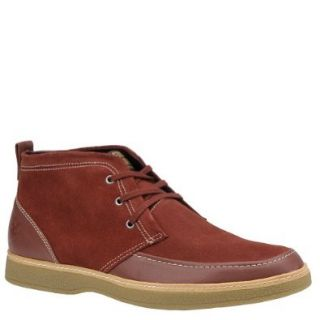 Stacy Adams Men's Dynamo Ankle Boot, Brick, 9.5 M US: Shoes