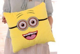 Fresh Beginning Minions 2 In 1 Cushion Blanket Despicable Me Pillow Quilt (two eyes)