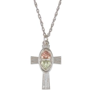 gold cross pendant in sterling silver orig $ 69 00 now $ 49 99 take an