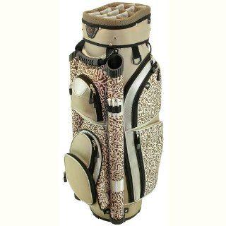 Hunter Golf Eclipse Khaki Safari Ladies Cart Bag  Womens Golfbags  Sports & Outdoors
