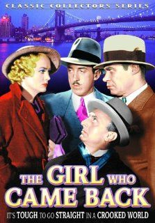Girl Who Came Back: Shirley Grey, Sidney Blackmer, Frank LaRue, Noel Madison, Matthew Betz: Movies & TV
