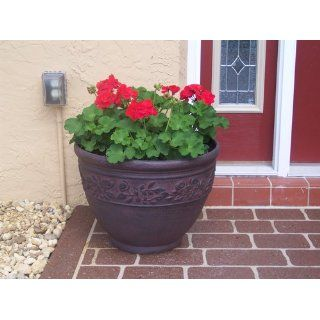 Dynamic Design FRB2004WI Rose Bud 20 Inch Classic Chic Polylam4, Worm Iron (Discontinued by Manufacturer) : Planters : Patio, Lawn & Garden