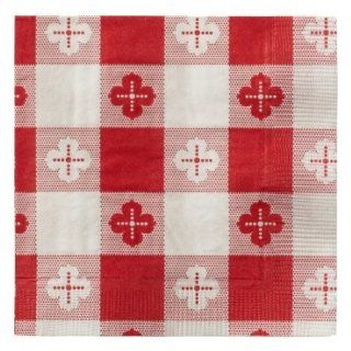"Hoffmaster 020398 Beverage Napkin, Coin Embossed, 2 Ply, 1/4 Fold, 10"" Length x 10"" Width, Red (Case of 1000): Health & Personal Care"