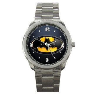 batman logo 5 sport wrist watch metal watch gift : Sports Fan Watches : Sports & Outdoors