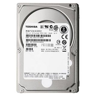 New   300 GB, 10000 RPM, SAS, 2.5in   MBF2300RC: Computers & Accessories