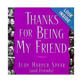 Thanks For Being My Friend (Quote A Page): Spaar: 9780836282979: Books