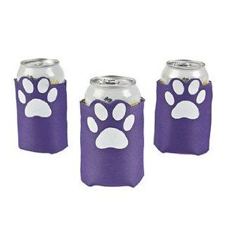 Purple Paw Print Can Covers   Party Tableware & Beer Can Covers Barware Kitchen & Dining