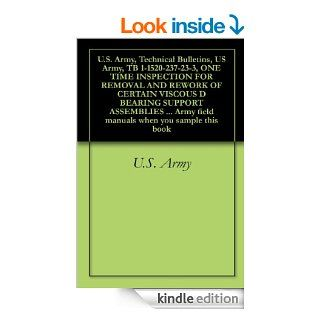 U.S. Army, Technical Bulletins, US Army, TB 1 1520 237 23 3, ONE TIME INSPECTION FOR REMOVAL AND REWORK OF CERTAIN VISCOUS D BEARING SUPPORT ASSEMBLIESfield manuals when you sample this book eBook U.S. Army, Delene Kvasnicka of Survivalebooks, U.S. Depart