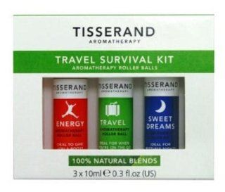 Travel Survival Kit , Contains 4x10ml Essential Oils Roll Ons: Health & Personal Care