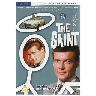 The Saint   The Complete Colour Series (1960 1969) / REGION 2 PAL / British Network Release / 14 DVD Disc Set / Actors: Roger Moore, Ivor Dean, Ricardo Montez, Larry Taylor, Justine Lord /Writer: John Kruse, John Stanton, Harry W. Junkin / Producers: Roger