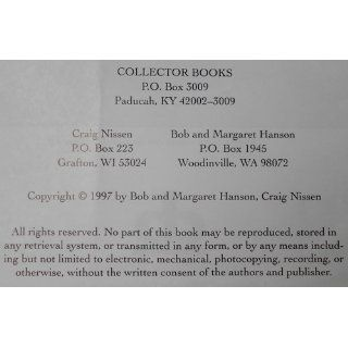 McCoy Pottery Collector's Reference & Value Guide, Vol. 1: Bob Hanson, Craig Nissen, Margaret Hanson: 9780891457299: Books