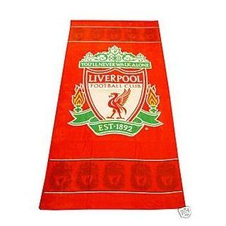Liverpool FC Football Club Beach/Bath Towel (30 x 60 Inches (75x150cm)) (Red)