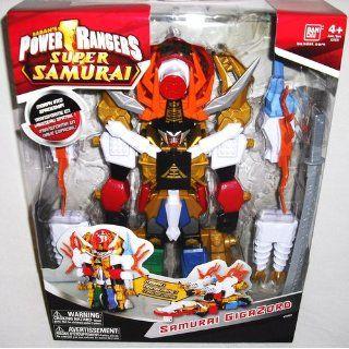 Power Rangers Deluxe Megazord Samurai Gigazord: Toys & Games